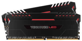 Corsair Vengeance® LED 16GB (2x8GB) DDR4 DRAM 3000MHz C15 Kit - Red LED