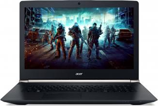 "Геймърски лаптоп Acer Aspire VN7-792G-744Y Nitro(NH.GBZEX.011) 17.3"" IPS FHD, i7-6700HQ, 8GB DDR4, 1TB HDD, GeForce 945M, Черен"
