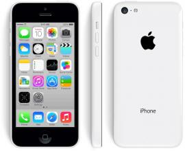 Преоценен Реновиран iPhone 5C 16GB, Бял