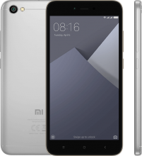 "Xiaomi Redmi Note 5А 5.5"" HD (1280 x 720), 16GB, Dual SIM, Сив"
