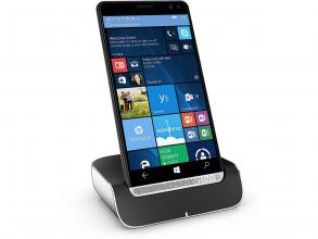 HP Elite x3 Desk Dock, 64 GB eMMC, 3G/4G, Dual Micro/Nano-SIM, Черен