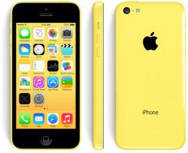 Реновиран iPhone 5C 16GB, AX Жълт