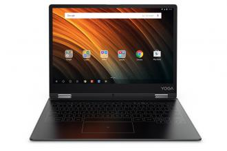 "Таблет Lenovo Yoga Book A12, 12.2"", 32GB, Сив"
