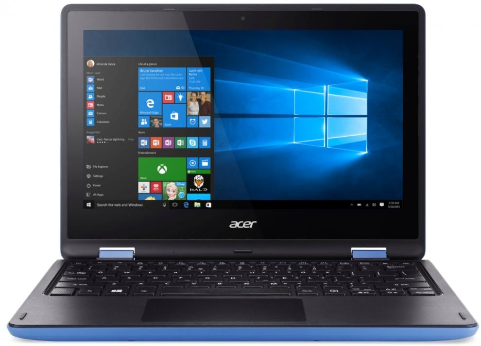 Acer Aspire R3-131T-C088, Intel Celeron N3050 (up to 2.16GHz) 4GB, 500GB, NX.G0YEX.028, Син