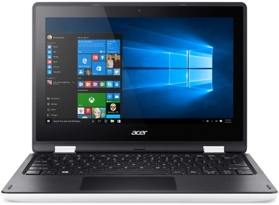 Acer Aspire R3-131T-C2V3, Intel Celeron N3050 (up to 2.16GHz) 4GB, 500GB, NX.G0ZEX.019, Бял