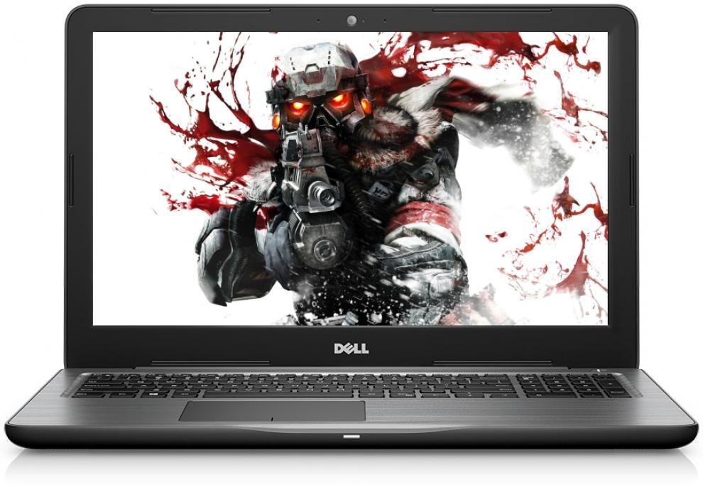 "DELL Inspiron 5567, 15.6"" FHD, i5-7200U, 4GB DDR4, 1TB HDD, AMD R7 M445, Черен"