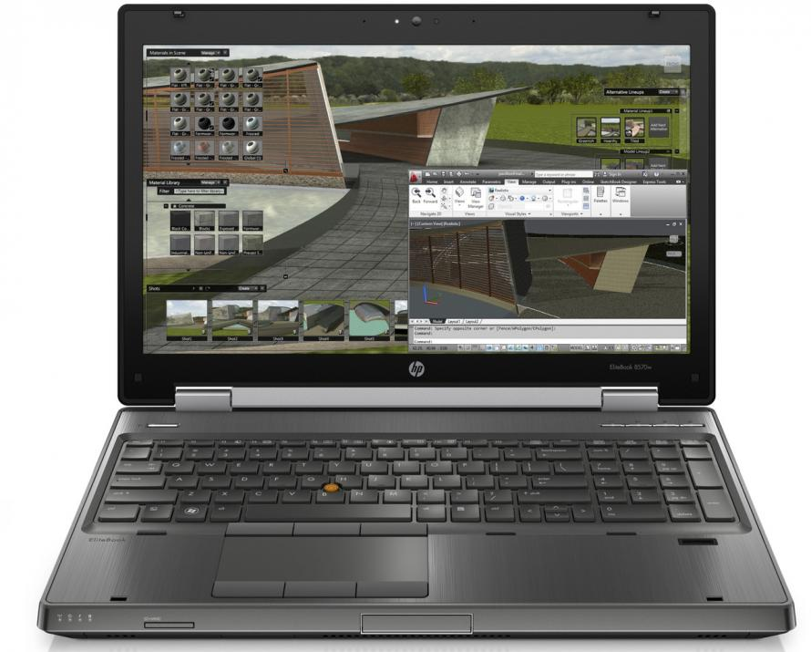 "Workstation HP EliteBook 8570w, 15.6"" FHD, i7-3720QM, 16GB RAM, 512GB SSD, Quadro K1000M, Win 10"
