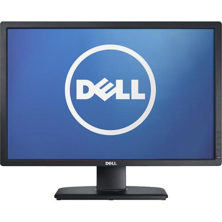 "КАТО НОВ Dell U2412H, 24"" LED, IPS, Full HD (1920 x 1080) - ZERO Pixel Warranty"