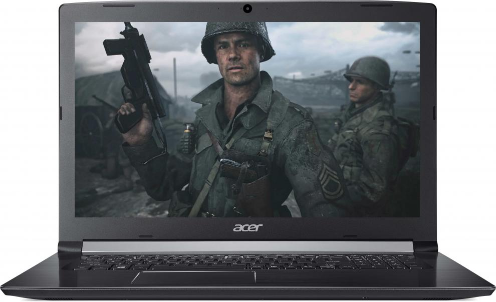 "Acer Aspire 5 (NX.GSXEX.011) 17.3"" HD+, i7-8550U, 8GB DDR4, 1TB HDD, GF MX150 2GB, Черен"