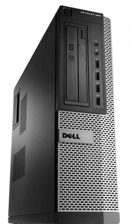 Dell Optiplex 790 DT, i7-2600, 8GB RAM, 120GB SSD, 250GB HDD, GTX 1050, Win 10 Pro