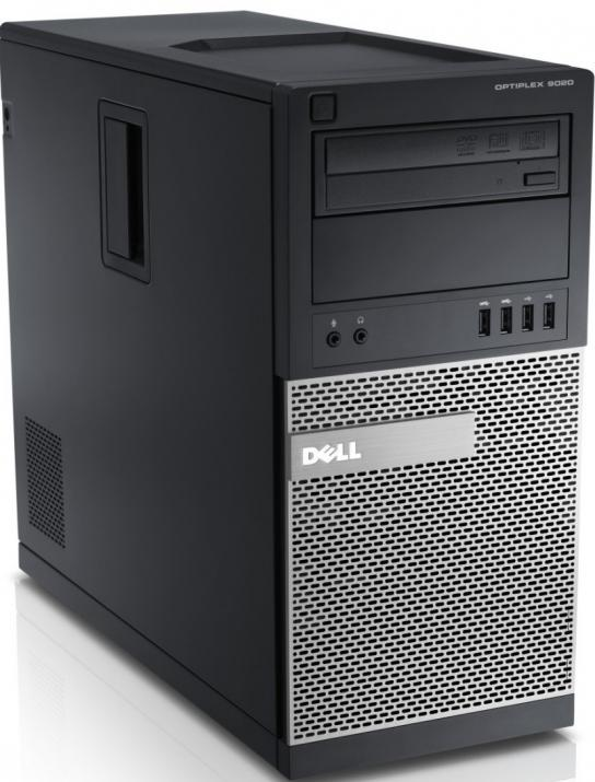 За игри Dell Optiplex 9020 Tower, i7-4770, 4GB RAM, 250GB HDD, DVD-RW, GTX 1050, Win 10