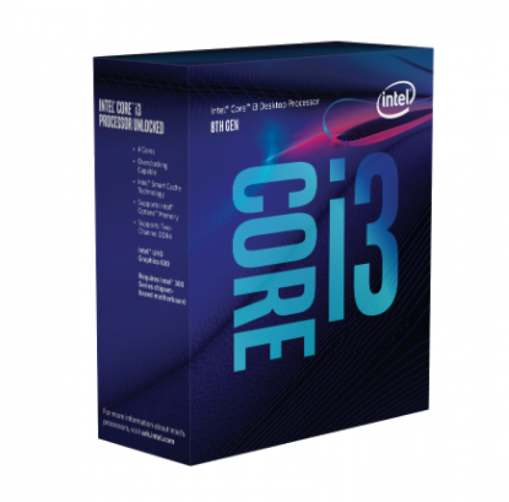 ПОДАРЪК: Counter-Strike: Global Offensive Комплект Intel Core i3-8300 (3.7GHz, 8MB Cache) + ASRock B360M-HDV
