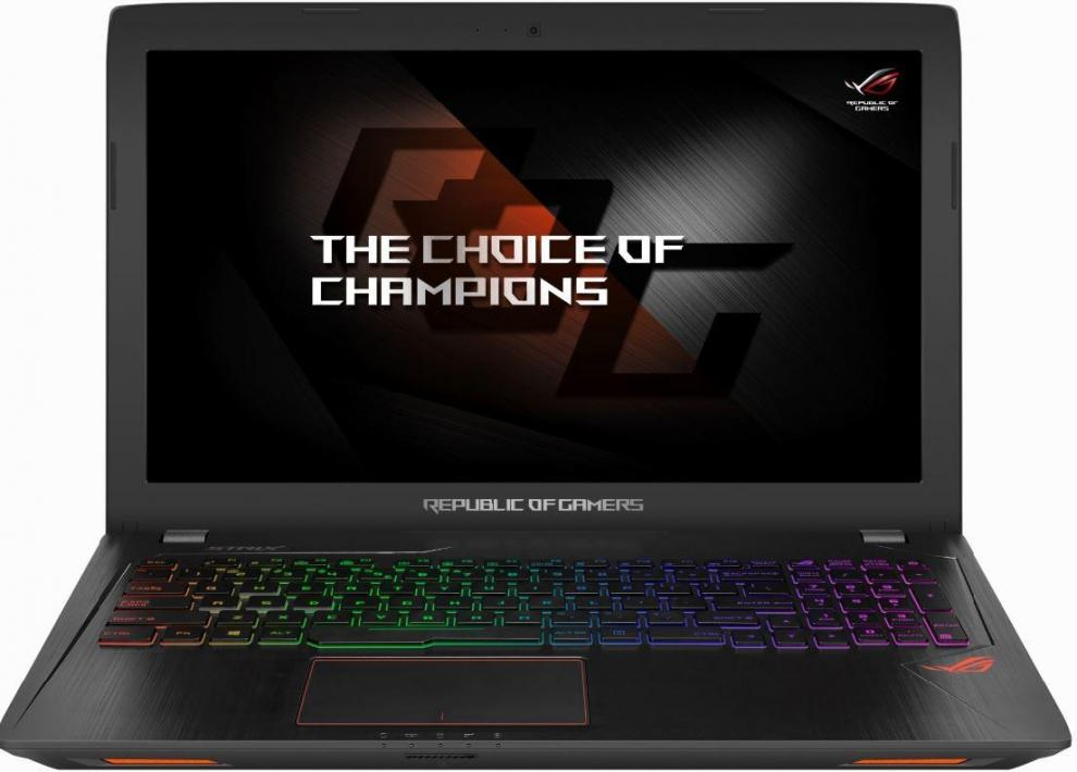 "UPGRADED ASUS ROG Strix GL553VE-FY052T 15.6"" IPS FHD, i7-7700HQ, 32GB RAM, 256GB SSD, 1TB HDD, GTX 1050Ti 4GB, Win 10, 90NB0DX3-M01770, Метален"