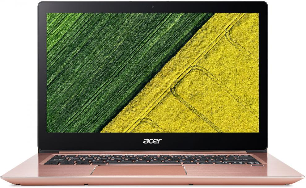 "Acer Swift 3 SF314-52-52Y2 14.0"" FHD IPS, i5-8250U, 8GB RAM, 256GB SSD NVMe, Win 10, Розово златист"