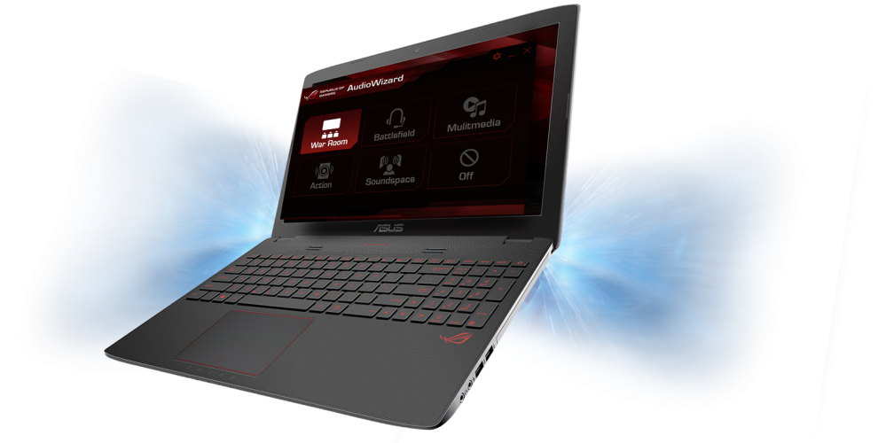 ASUS ROG GL752VW-T4255D, Intel Core i7-6700HQ (up to 3.5GHz) 8GB DDR4, 1TB HDD, 128GB SSD, nVidia GTX 960M 4GB