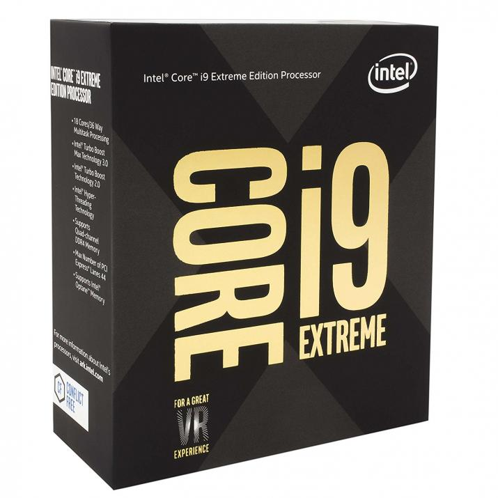 Процесор Intel Core i9-7980XE (2.6/4.2GHz, 24.75MB Cache) (BX80673I97980XSR3RS)