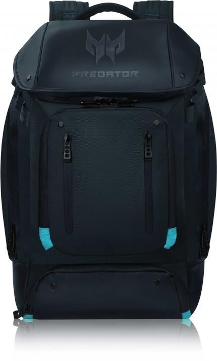 """Раница за лаптоп 17.3"""" Acer Predator Gaming Utility Backpack Black with Teal Blue"""