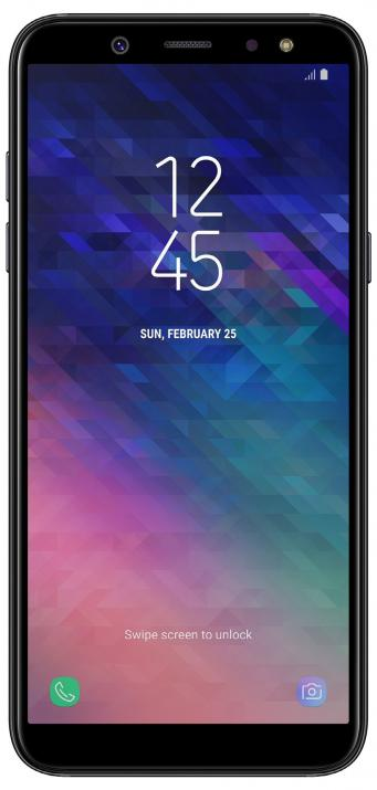 Samsung SM-A600F GALAXY A6 (2018), 32GB, Single SIM, Черен